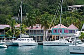 Great Harbour  At roughly 8 square kilometers, and about 3 square miles Jost Van Dyke is the smallest of the four main islands of the British Virgin Islands