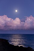 America, destination, Hawaii, island, lava, shore, volcano, wave, wild, T89-1628567, AGEFOTOSTOCK
