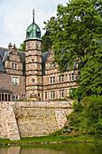 The imposing Haemelschenburg near Hamelin, Lower Saxony, Germany, Europe