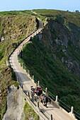 British Crown dependency, Isle of Sark, La Coupee