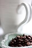 seductive curves and dark rich coffee beans