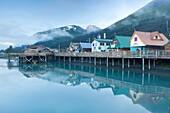 Seward, Kenai Peninsula, Alaska, U S A