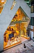 Tod´s store by Toyo Ito, in Omotesando street  Tokyo  Japan