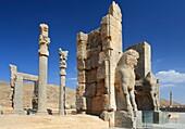 The Xerxes Gate, aka Gate of All Nations, Persepolis, Iran