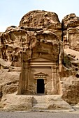 Al Beidha also known as Little Petra is a major Neolithic archaeological site a few kilometres north of Petra near Siq al-Barid in Jordan