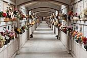 Italy  Genova  Funerary monument in Staglieno monumental cemetery