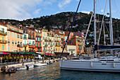 Promenade Des Marinieres, Marina And Town Of Villefranche-Sur-Mer, Alpes-Maritimes (06), France