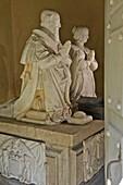 The White Marble Tomb Of The Duc De Sully And His Wife Rachel De Cochefilet, Nogent-Le-Rotrou, Eure-Et-Loir (28), France