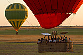 Flight In A Hot-Air Balloon Over The Eure Valley, Eure-Et-Loir (28), France