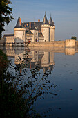 The Renaissance Chateau Of Sully-Sur-Loire In The Early Morning, Loiret (45), France