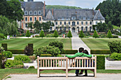The Abbey Of Valloires, Built In The 17Th And 18Th Centuries, And Its Gardens, Argoules, Somme (80), France