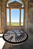 Other Australian Battlefields Indicated On The Circular Orientation Table, Top Of The Tower Of The Australian National Memorial Inaugurated In 1938, Villiers-Bretonneux, Somme (80), France