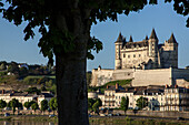 Chateau De Saumur, Medieval Fortress Become The Palace And Residence Of The Counts Of Anjou, Maine-Et-Loire (49), France