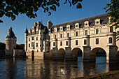 The Chateau Of Chenonceaux On The Cher River, Indre-Et-Loire (37), France