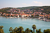 Town From The Bell Tower Of The Cathedral Of St. Lawrence, Trogir, Split-Dalmatia, Croatia