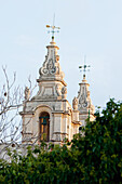 Bell Tower Of The Cathedral Of Saint Peter & Saint Paul, Mdina, Malta