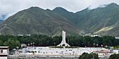 'China, Xizang, Liberation Monument; Lhasa'
