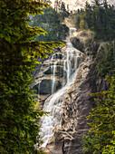 'Scenic Of Shannon Falls;British Columbia Canada'