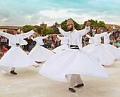 'Turkey, Konya Province, Whirling Dervishes; Konya'