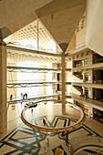 Interior of Museum of Islamic Art, Doha, Qatar