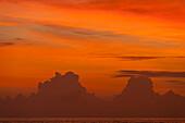 Detail of clouds at sunset, Thalpe, near Unawatuna, Sri Lanka. ©Ian Cumming / Axiom