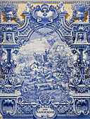 Azulejo tiles, Pavilhao dos Desportos, Parque Eduardo VII, Lisbon, Portugal, Europe