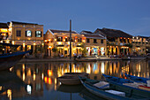 Town waterfront, Hoi An, Vietnam