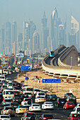 Ian, Cumming, nobody, Outdoors, Day, Heat, Architecture, Skyscraper, Road Sign, Road, Traffic, Transportation, Car, Crowded, Clear Sky, City, Development, On The Move, Progress, Wealth, Skyline, Dubai, United Arab Emirates, Subway Train, Sheiks Zayed Road