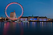 Doug, McKinlay, London Eye, nobody, Outdoors, Illuminated, Building Exterior, Architecture, Built Structure, Façade, River, Travel Destinations, Water, Arts Culture And Entertainment, Reflection, Travel, Clear Sky, Place Of Interest, International Landmar