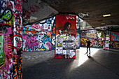 'Doug, McKinlay, Indoors, Day, Full Length, Young Adult, Young Men, One Person, Communication, Training, Sunlight, Architecture, Built Structure, Travel Destinations, Youth Culture, Art And Craft, Travel, Capital Cities, City, City Life, Graffiti, Creativ