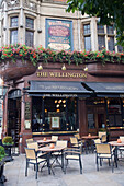 Exterior Of Pub, London, England