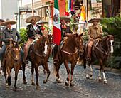 Mexican rodeo and parade, Puerto Vallarta, Mexico