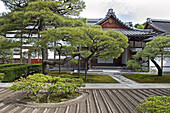 Japan, Plants and architecture of Japanese garden, Tokyo