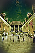 Bustle of Grand Central Station, New York City, New York, United States of America