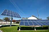 Photovoltaikanlage, Weiz, Steiermark, Österreich