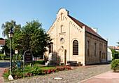 Old Synagogue, Krakow at the Lake, Mecklenburg-Western Pomerania, Germany