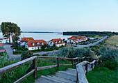 Port at Salzhaff, Seaside Resort of Rerik, Mecklenburg-Western Pomerania, Germany