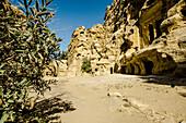 Temple, Siq el-Barid, Little Petra, Wadi Musa, Jordan, Middle East