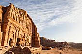 Palace tomb, Royal tombs, Petra, Wadi Musa, Jordan, Middle East