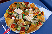 Italian appetizer breads, Lecce Province, Apulia, Peninsula Salento, Italy, Europe