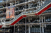 Centre Pompidou, Paris, France, Europe