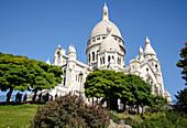 Basilica of the Sacre Cœur at Montmartre, Paris, France, Europe