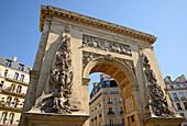 Porte Saint-Denis, Paris, France, Europe