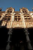 Inner courtyard, Palace of Prince-Bishops, Liege, Wallonia, Belgium