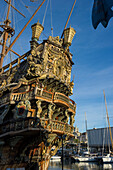 Sailing ship Neptune, Porto Antico, Genoa, Liguria, Italia