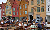 Storehouse of the Hanseatic League, Bryggen, Bergen, Province of Hordaland, Vestlandet, Norway, Europe