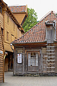 Storehouse of the, Hanseatic League, Bryggen, Bergen, Province of Hordaland, Vestlandet, Norway, Europe