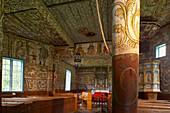 Interior view of the church, Rosekyrkja in Stordal, Province of More og Romsdal, Vestlandet, Norway, Europe