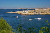 Rocky coast near Marstrand, Province of Bohuslaen, West coast, Sweden, Europe