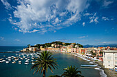 Baia del Silencio, Sestri Levante, province of Genua, Italian Riviera, Liguria, Italia